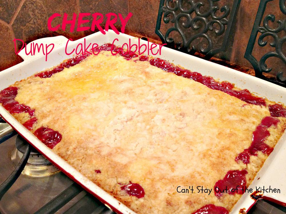Cherry Dump Cake Recipe With Coconut