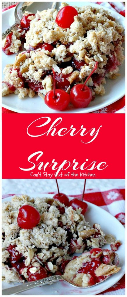 Cherry Surprise | Can't Stay Out of the Kitchen