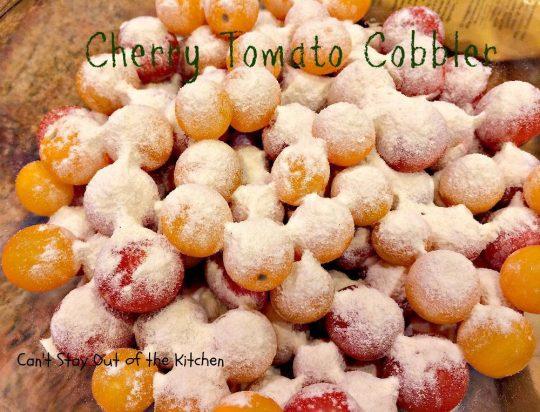 Cherry Tomato Cobbler - IMG_9669