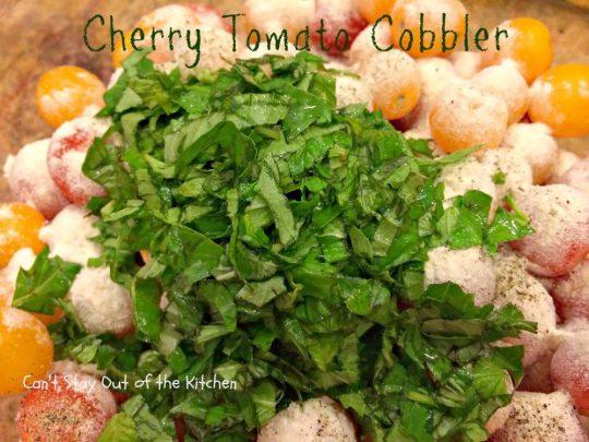 Cherry Tomato Cobbler - IMG_9671