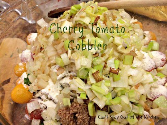 Cherry Tomato Cobbler - IMG_9677