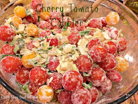 Cherry Tomato Cobbler - IMG_9678