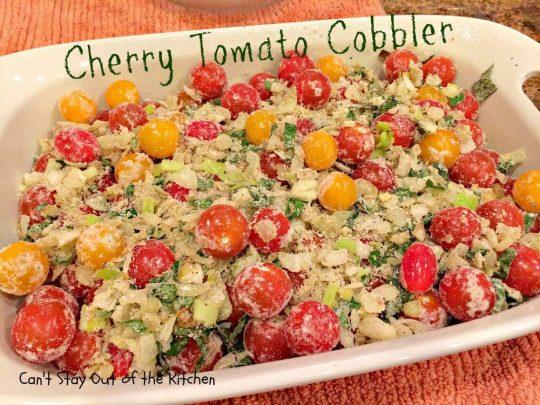 Cherry Tomato Cobbler - IMG_9679