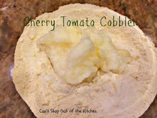 Cherry Tomato Cobbler - IMG_9684