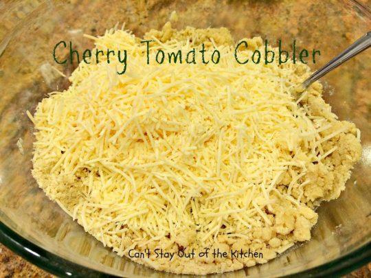 Cherry Tomato Cobbler - IMG_9686