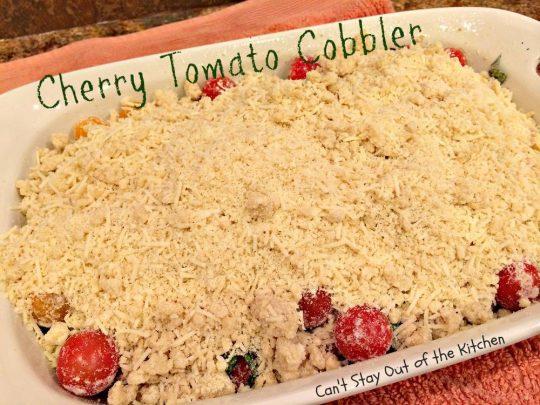Cherry Tomato Cobbler - IMG_9688