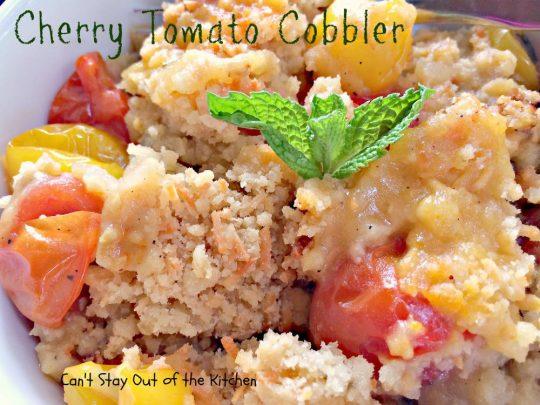 Cherry Tomato Cobbler - IMG_9871