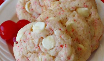 Cherry White Chocolate Cookies