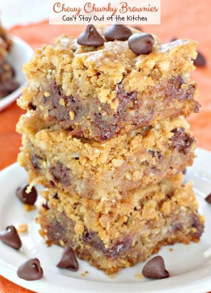 Chewy Chunky Brownies - IMG_6170