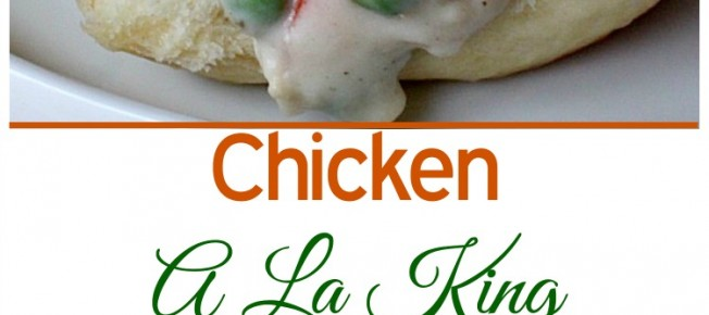 Chicken A La King | Can't Stay Out of the Kitchen | this mouthwatering #chicken entree is comfort food at its finest. Serve over rolls for a quick and easy supper.