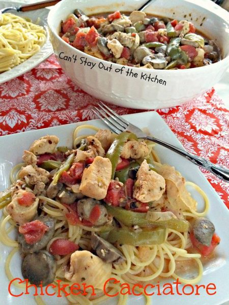 Chicken Cacciatore Can T Stay Out Of The Kitchen