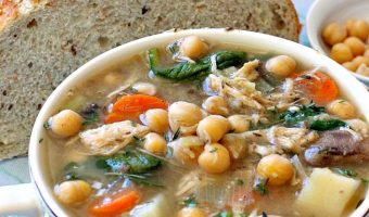 Chicken-Chickpea-Potato Soup