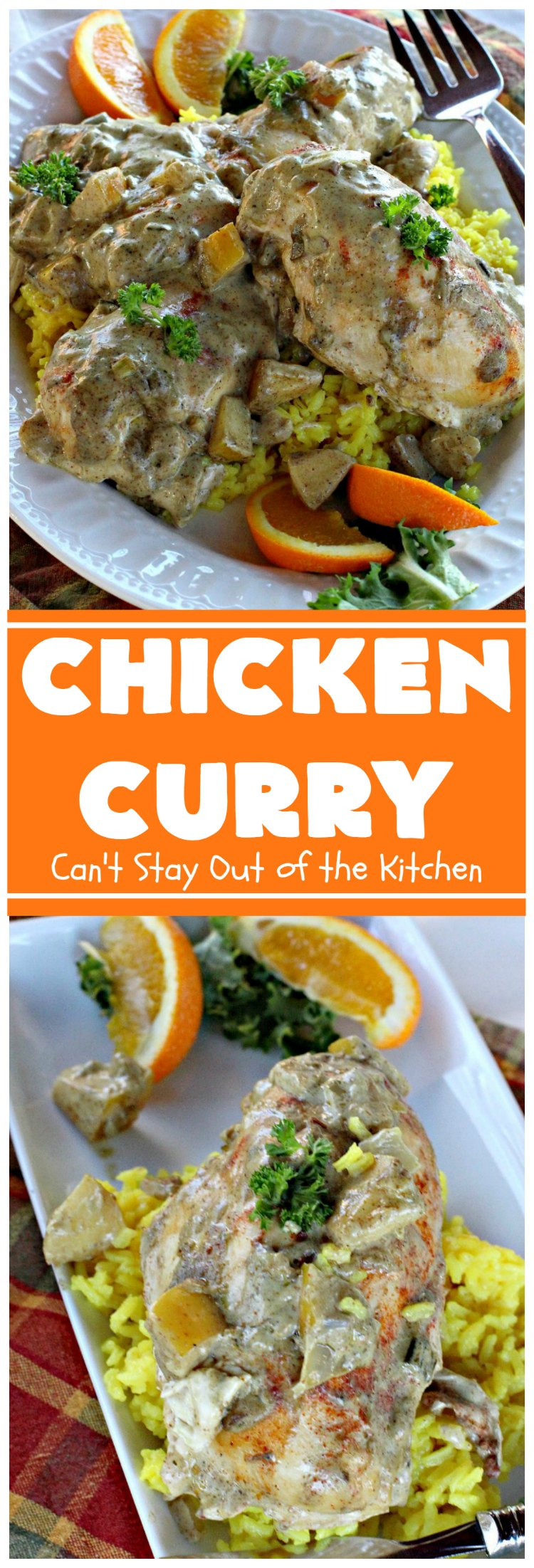 Chicken Curry | Can't Stay Out of the Kitchen