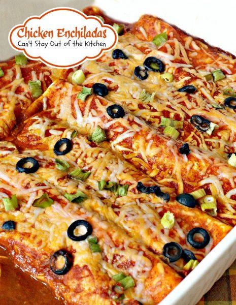Chicken Enchiladas - IMG_2964