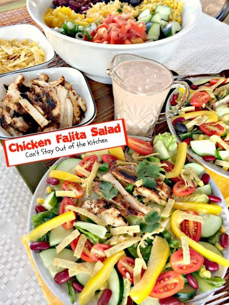 Chicken Fajita Salad - IMG_9952