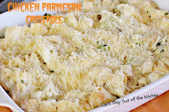 Chicken Parmesan Casserole - IMG_3232