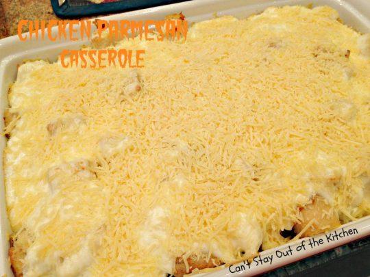 Chicken Parmesan Casserole - IMG_8019
