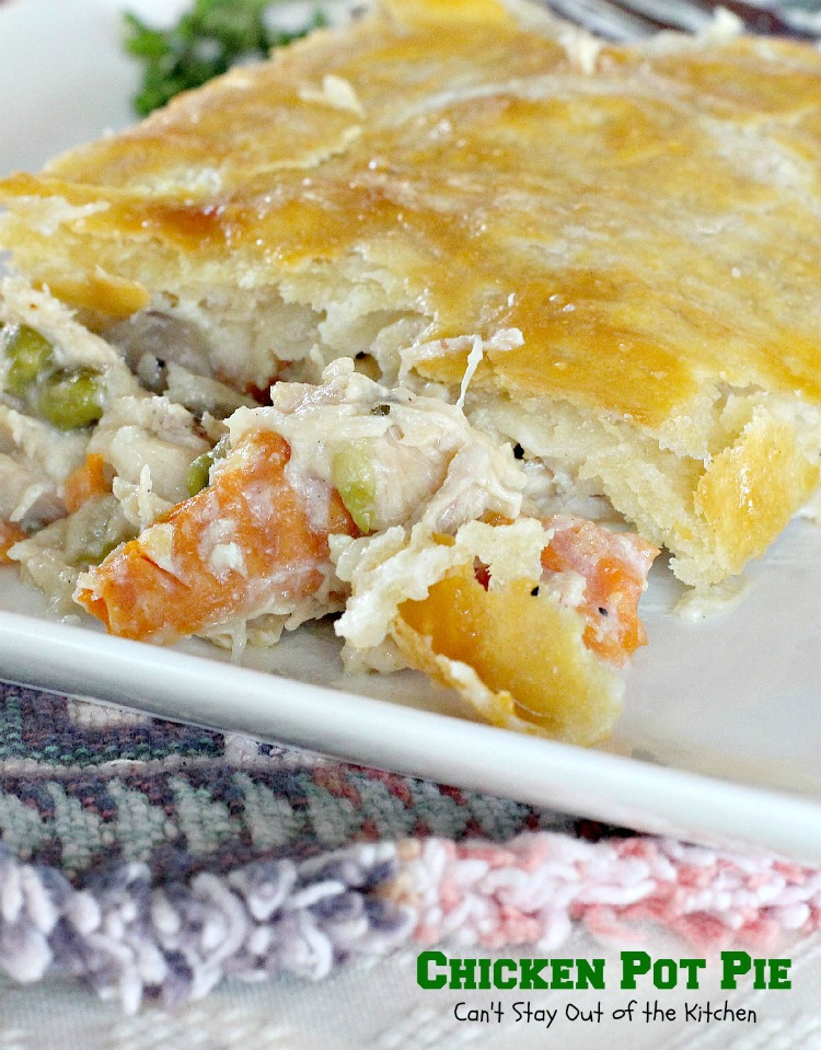 Baked Chicken Pot Pie Pasta Recipe — Dishmaps