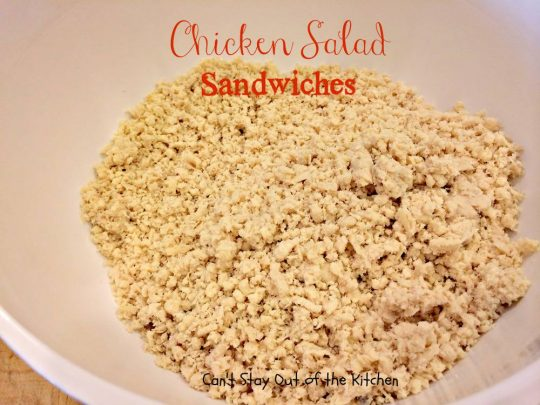 Chicken Salad Sandwiches - IMG_3545