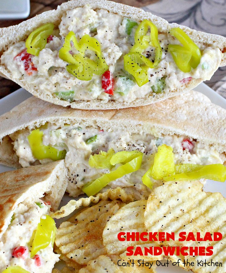 Chicken Salad Sandwiches Can T Stay Out Of The Kitchen