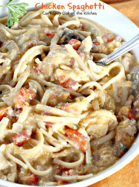 Chicken Spaghetti - IMG_4705