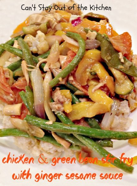 Chicken and Green Bean Stir Fry with Ginger Sesame Sauce - Recipe Pix 23 556.jpg.jpg