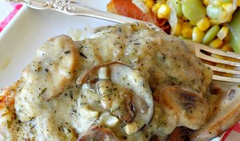Chicken and Mushroom Casserole