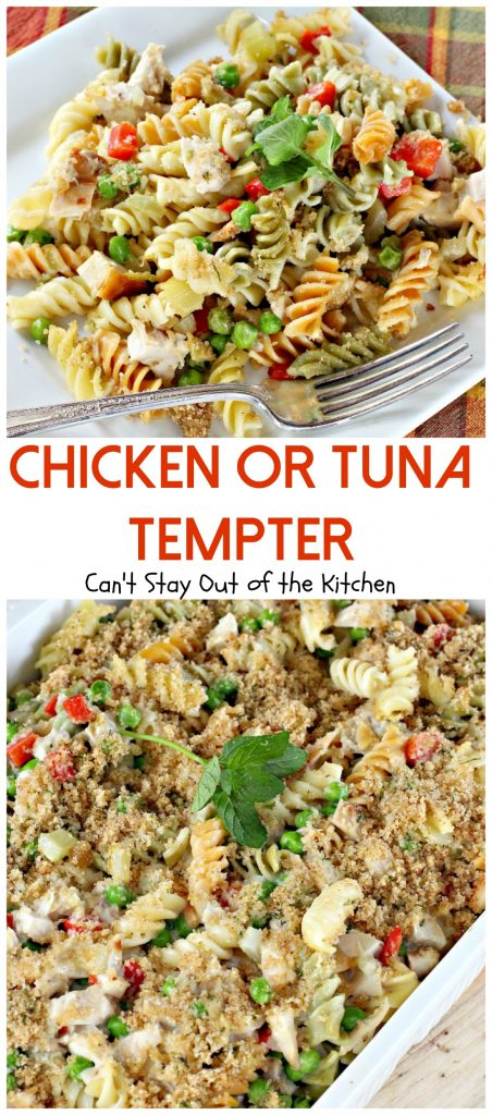 Chicken or Tuna Tempter | Can't Stay Out of the Kitchen