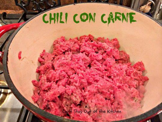 Chili Con Carne - IMG_1082