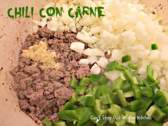 Chili Con Carne - IMG_1084