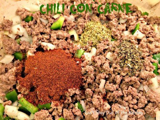 Chili Con Carne - IMG_1085