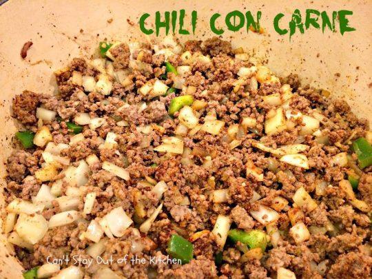 Chili Con Carne - IMG_1086