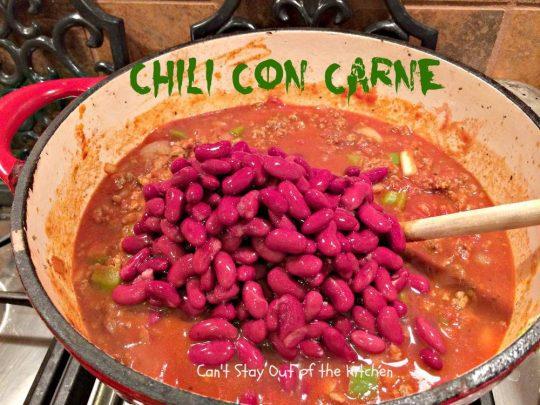Chili Con Carne - IMG_1096