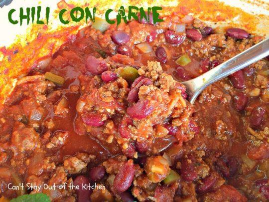 Chili Con Carne - IMG_1112