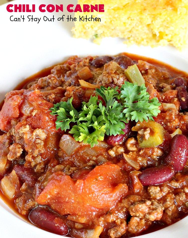Chili Con Carne Jauhelihasta