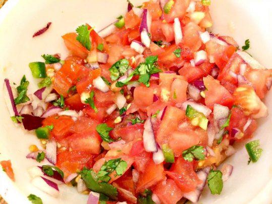 Chili's Caribbean Salad - IMG_0175