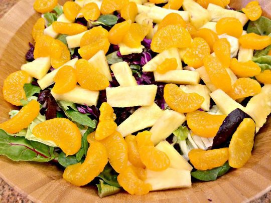 Chili's Caribbean Salad - IMG_0185