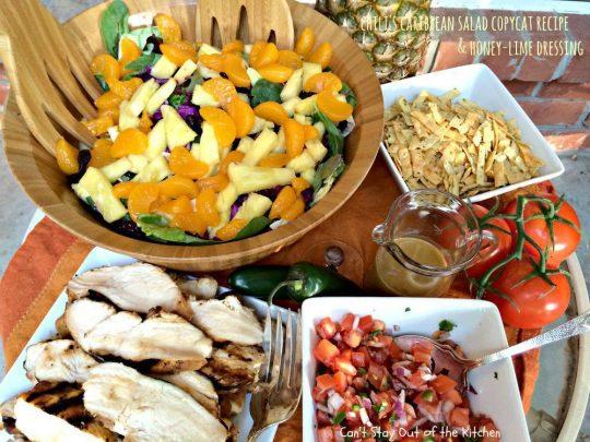 Chili's Caribbean Salad - IMG_0202