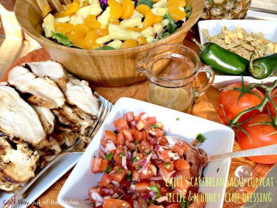Chili's Caribbean Salad - IMG_0207