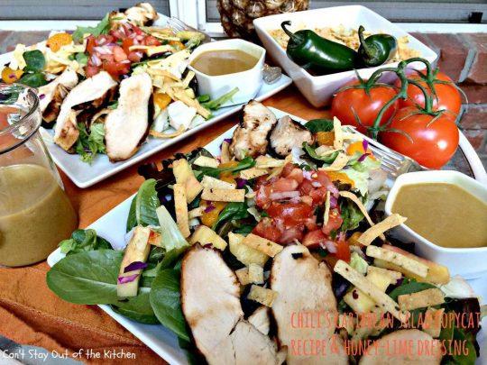 Chili's Caribbean Salad - IMG_0216