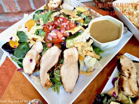 Chili's Caribbean Salad - IMG_0219