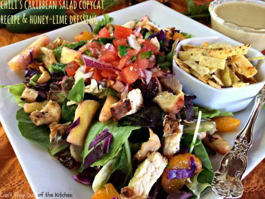 Chili's Caribbean Salad - IMG_0266