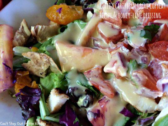 Chili's Caribbean Salad - IMG_0312