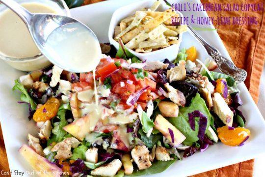 Chili's Caribbean Salad - IMG_6524