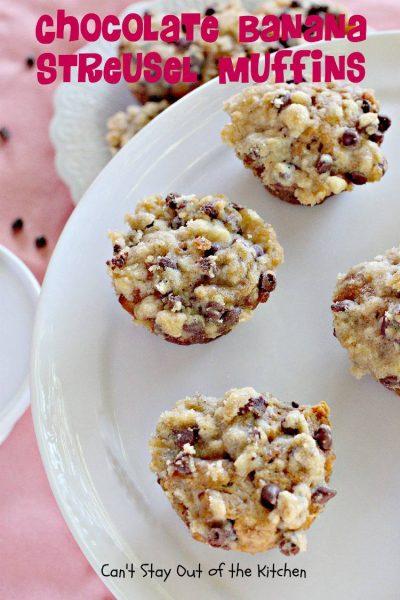 Chocolate Banana Streusel Muffins - IMG_9248.jpg