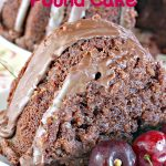 Chocolate Butter Pecan Pound Cake