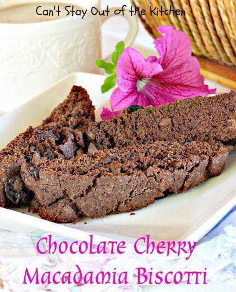 Chocolate Cherry Macadamia Biscotti - IMG_4699.jpg