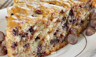 Chocolate Chip Banana Skillet Bread