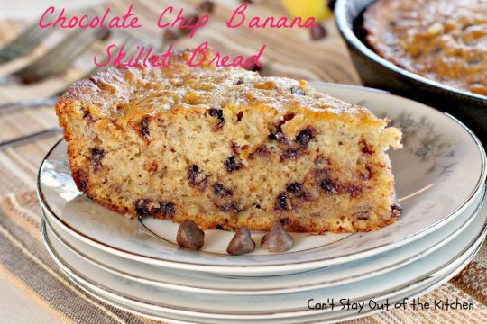 Chocolate Chip Banana Skillet Bread - IMG_5320.jpg