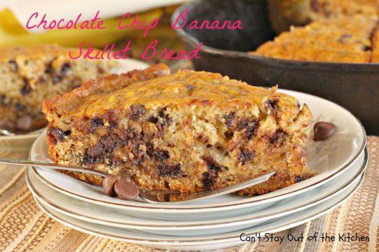 Chocolate Chip Banana Skillet Bread - IMG_5347.jpg